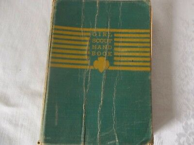 Vintage Girl Scout Handbook New Edition First Impression Edition October  1940