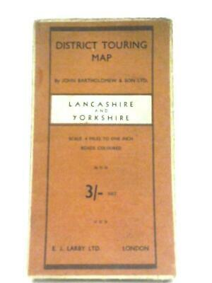 Lancashire and Yorkshire District Touring Map (Anon - 1111) (ID:46990)