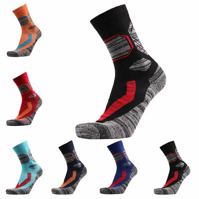 1Pair Lightweight Warm Thicken Ski Sock Cotton Winter Hiking Snowboarding Unisex