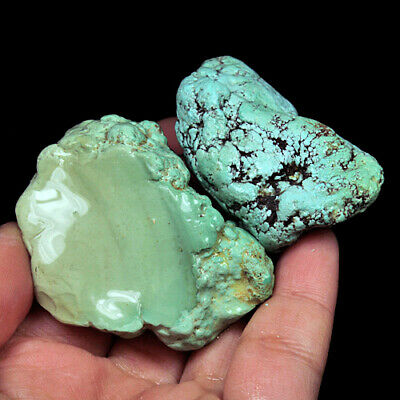 405.3Ct 100% Natural Brain Turquoise Nugget Intact Specimen YSTc1393