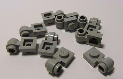 Dark GREY 1x1 Plate With Technic Clip Thick Ring LEGO 4081b 10 25 50 Pieces