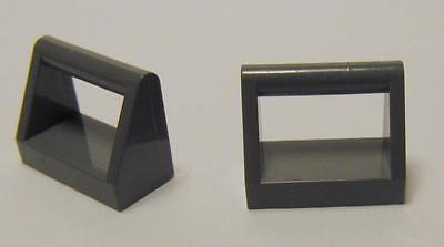 Modified 1 x 2 with Handle Dark Bluish Gray 25 NEW LEGO Tile