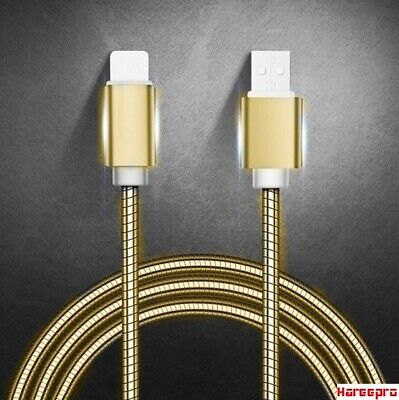 Heavy Duty Metal Braided USB Charger Cable for IPhone X 7 6 5 IPhone 5 / 6 / 7 /