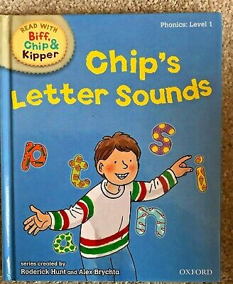 Read with Biff Chip & Kipper  Phonics: Chip's Letter Sounds Hardback Book