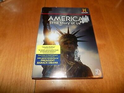 AMERICA THE STORY OF US Revolution Civil War WWI WW2 History Channel DVD SET NEW