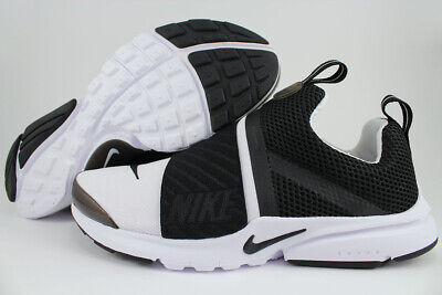 54268d99dfe44 NIKE PRESTO EXTREME Gs White/Black Running Slip-On Women Kids Us ...