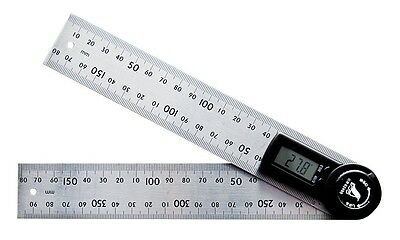 Shinwa Rules Digital Protractor 20cm with Hold Function 62495 from Japan Tool