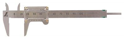 Shinwa Rules Pocket Vernier Caliper 100mm 19518 Brand New from Japan