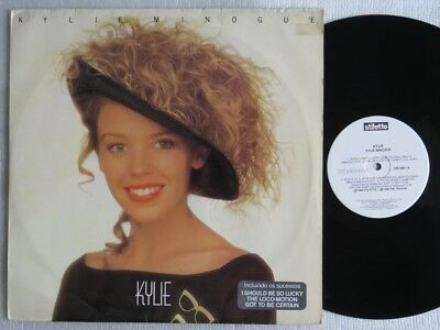 Kylie Minogue Kylie Lp Made In Brazil First Pressing 1988 With Insert