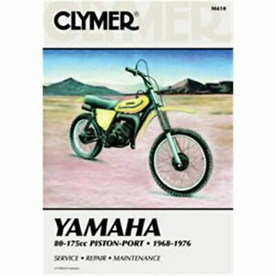Clymer Dirt Bike Manual - Yamaha 80-175cc Piston-Port - YAM AT1 1970; YAM AT2