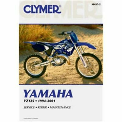 Clymer Dirt Bike Manual - Yamaha YZ125 - YAM YZ 125 1994 - 2001