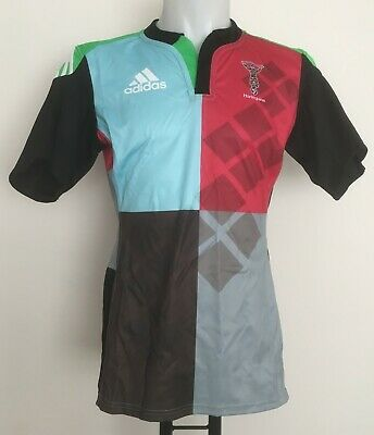 709cac013dd Harlequins Rugby 2014-15 S/s Home Jersey By Adidas Size Men's Large Brand