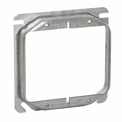 Raco 779 4 Inch Square 3/4 Raised 2 Device Mud Ring ( Case of 50)
