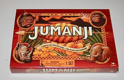 Jumanji the Game - 2 player Play Anywhere Edition (Travel Size) - Cardinal Games