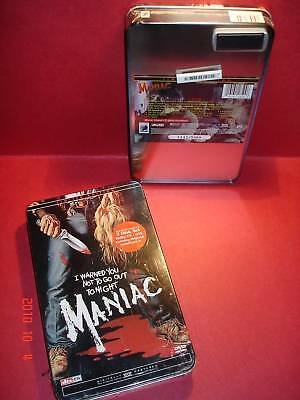 Mega Rare Factory Sealed NEW Collector Tin MANIAC DVD Anchor Bay Limited Edition