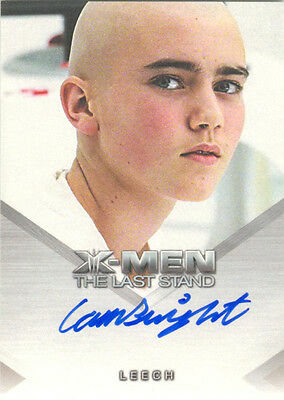 "X-Men 3, The Last Stand - Cameron Bright ""Leech"" Autograph Card"