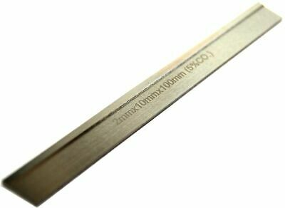 Chipbreaker Parting Blade 2 mm thick x 10 mm wide x 100 mm long. HSS 5% Cobalt