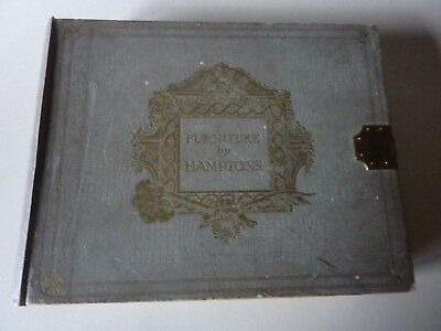 Furniture By Hamptons 1911 London Trade Catalogue