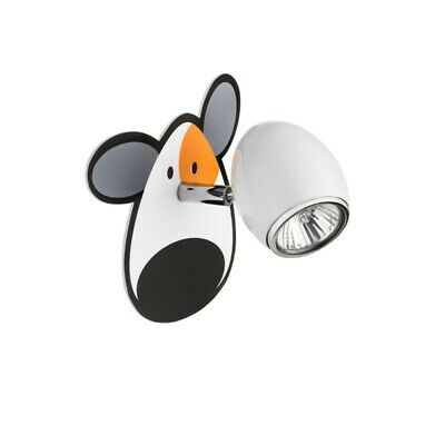 Led Reflector de Pared Dormitorio Infantil Lámparas Lámpara de Pared Doggy