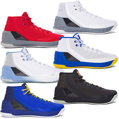 c0f3d24ff1be NEW UNDER ARMOUR UA Stephen Curry 3 Mens Mid Top Basketball Shoes ...