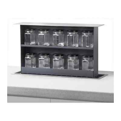 Ikea Intensitet S Box Soft opening pop up kitchen spice rack 402.950.57 £200