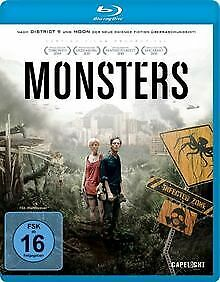 Monsters [Blu-ray] von Edwards, Gareth | DVD | Zustand sehr gut