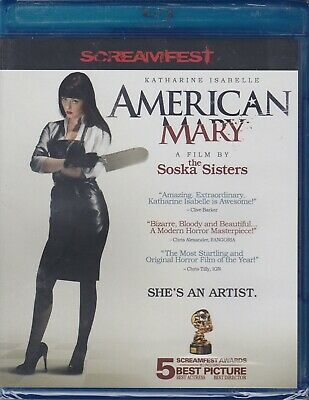 AMERICAN MARY BLU Ray Screamfest Horror Movies Jen Sylvia Soska