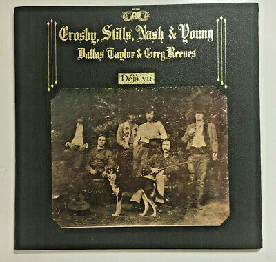 Crosby Stills Nash & Young - Deja Vu 1970 SD 7200 Textured ORIG Press vinyl