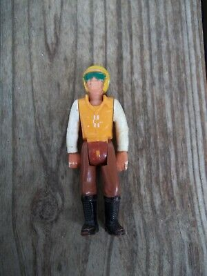 Vintage Fisher Price Motorcycle Rider Adventure Figure 3-1/2 inch Evil Knievel