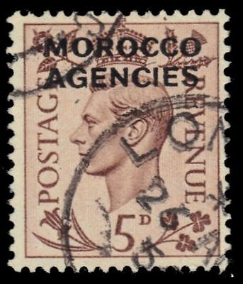 BRITISH OFFICES in MOROCCO 253 (SG84) - King George VI (pf31351)