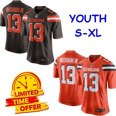 Top MEN'S #13 ODELL Beckham Jr Cleveland Browns Vapor Untouchable Limitd  supplier