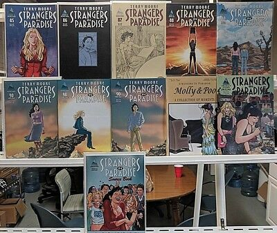 Strangers In Paradise Huge 11 Comic Book Lot Collection Books Set Run Box 4