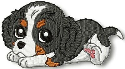 CUTE BABY CAVALIER 10 MACHINE EMBROIDERY DESIGNS CD or USB