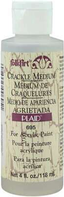 FolkArt Crackle Medium 4oz 028995006951