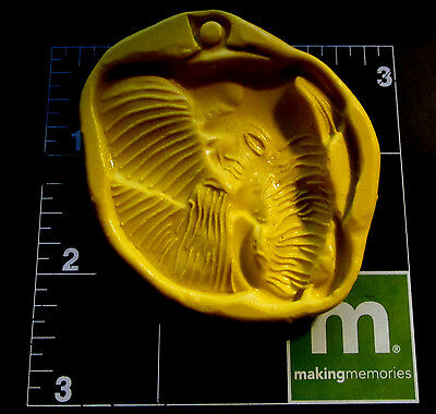 Elephant 3d Coin -Flexible Silicone Mold-Cake Cookie Crafts Clay Candy Fondant