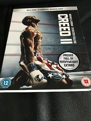 CREED 2 Blu Ray Slip Cover Only