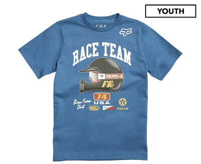 Fox Kids' Youth Speedway Short Sleeve Tee - Dust Blue