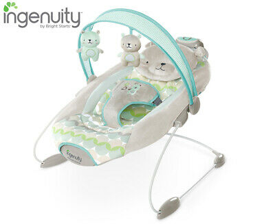 Ingenuity SmartBounce Automatic Bouncer Baby/Infant Rocking Chair/Music/Toy - Ha