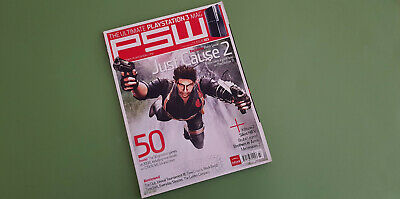 PSW [Playstation 3] Magazine - Issue 103 - January 2008 *Just Cause 2 Cover*