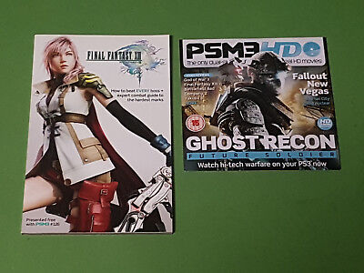 Playstation 3 Magazine PSM3 126 Final Fantasy XIII/God Of War III Guide & DVD