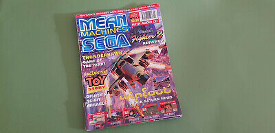 Sega Mean Machines Magazine - Issue 39 - January *Wipeout Cover*