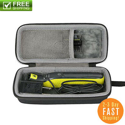 Case MicroTouch Micro Touch SOLO Rechargeable Trims Edges SMART Razor Shaver-New