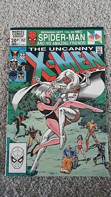 Marvel The Uncanny X-Men Comic Number 152 - December 1981 -  Original