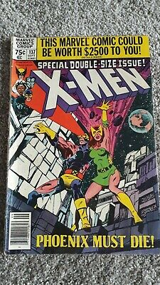 Marvel The Uncanny X-Men Comic Number 137 - September 1980 -  Original