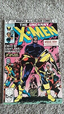 Marvel The Uncanny X-Men Comic Number 136 - August 1980 -  Original