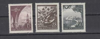Yugoslavia: Sc. 365-7 MNH  Navy Day cat. $20