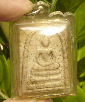 "Locket Fired Clay""Somdej Phra Puttajarn Toh Phrom-rangsri"" famous Monk"