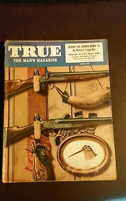 TRUE: The Man's Magazine October,  1949 Vintage Collectible