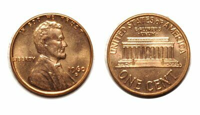 1960-D /D Small Date Lincoln Memorial Cent  RPM - 1MM-120 Choice BU Red   #696