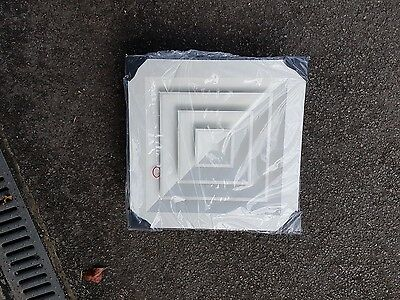Louvre Face Diffuser 4 way Ceiling Tile Replacement MODEL 6500-S